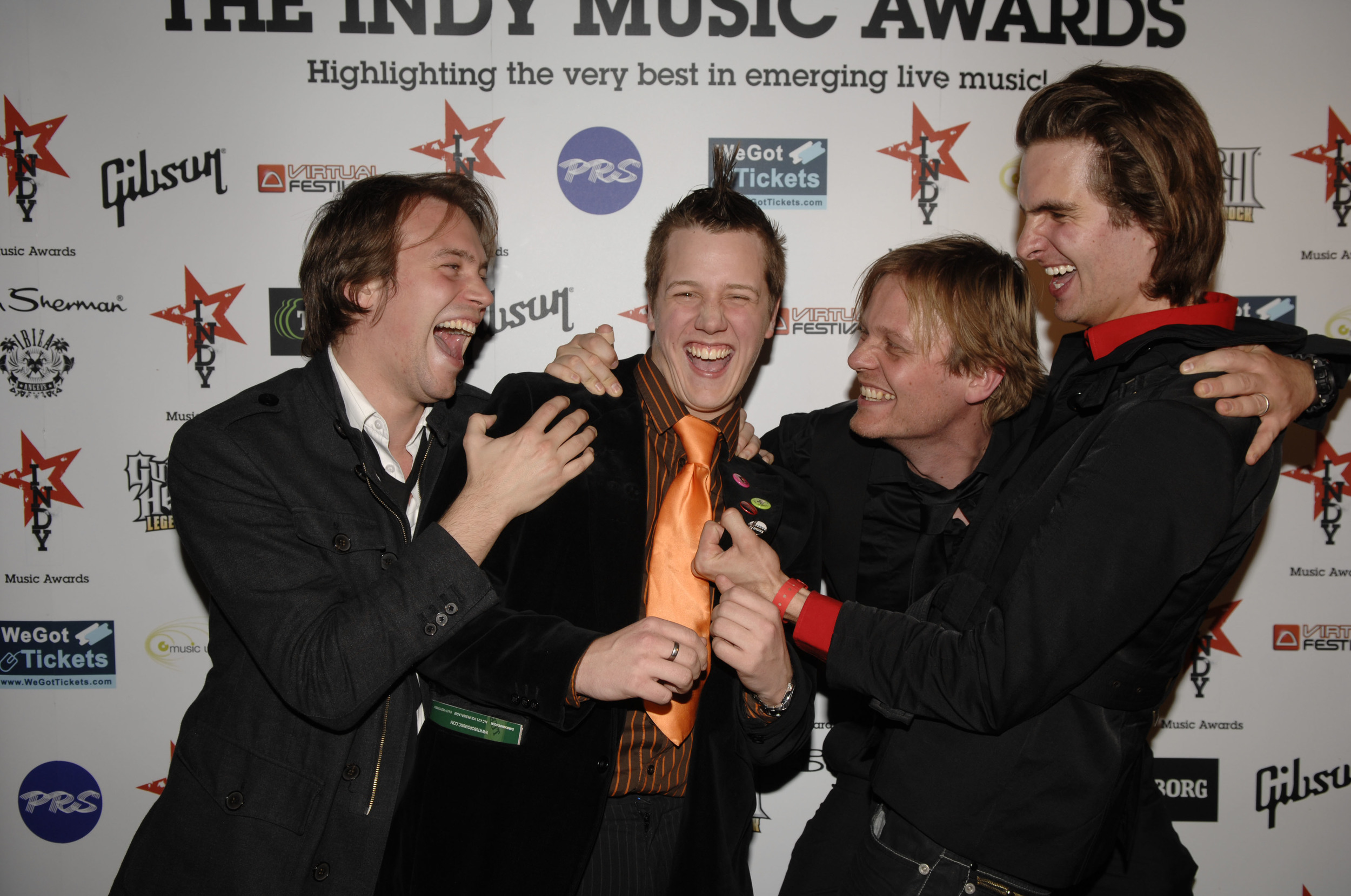 Press enclosure at the Indy Music Awards