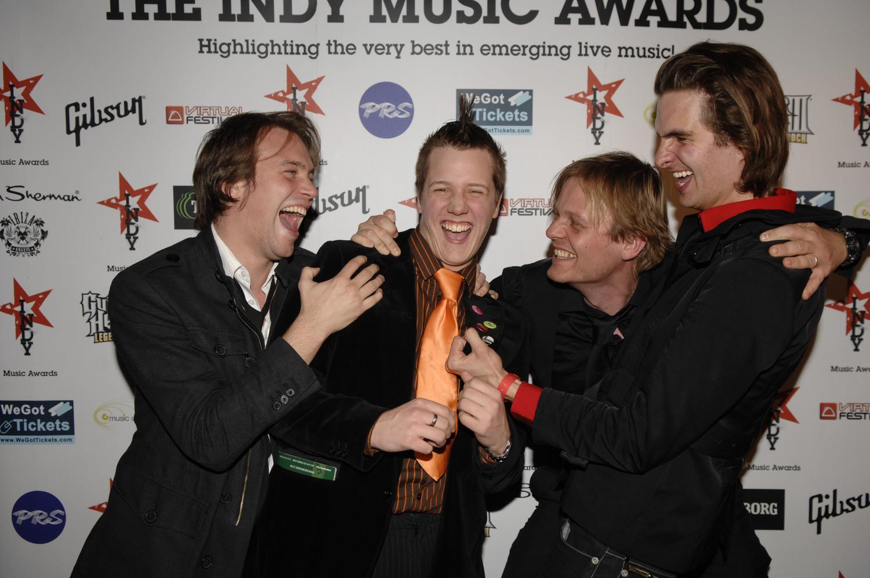 Press Enclosure at the Indy Music Awards