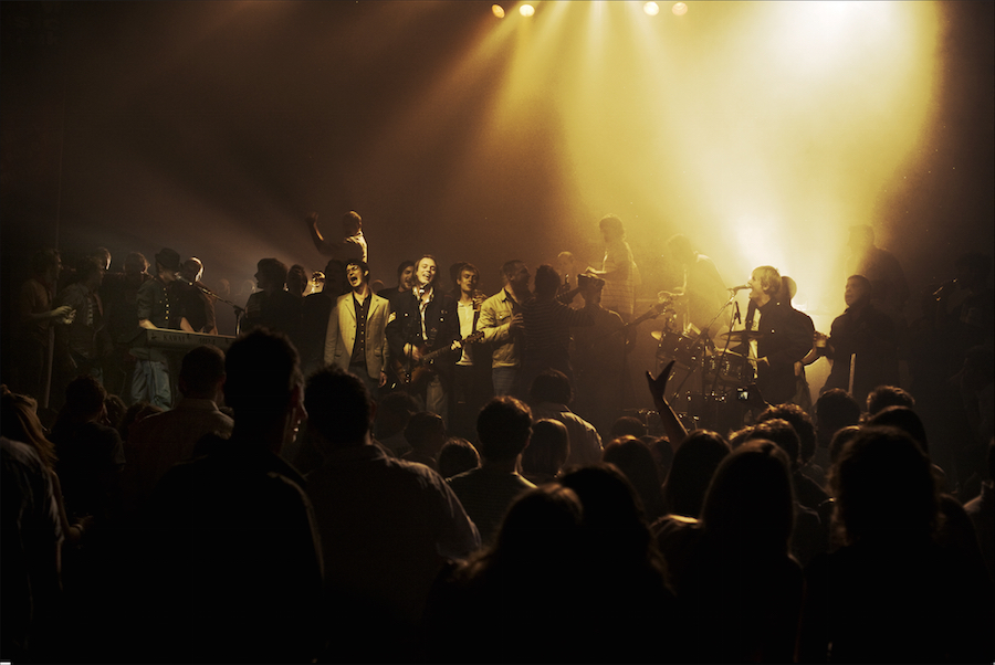 Stage invasion at the Clapham Grand