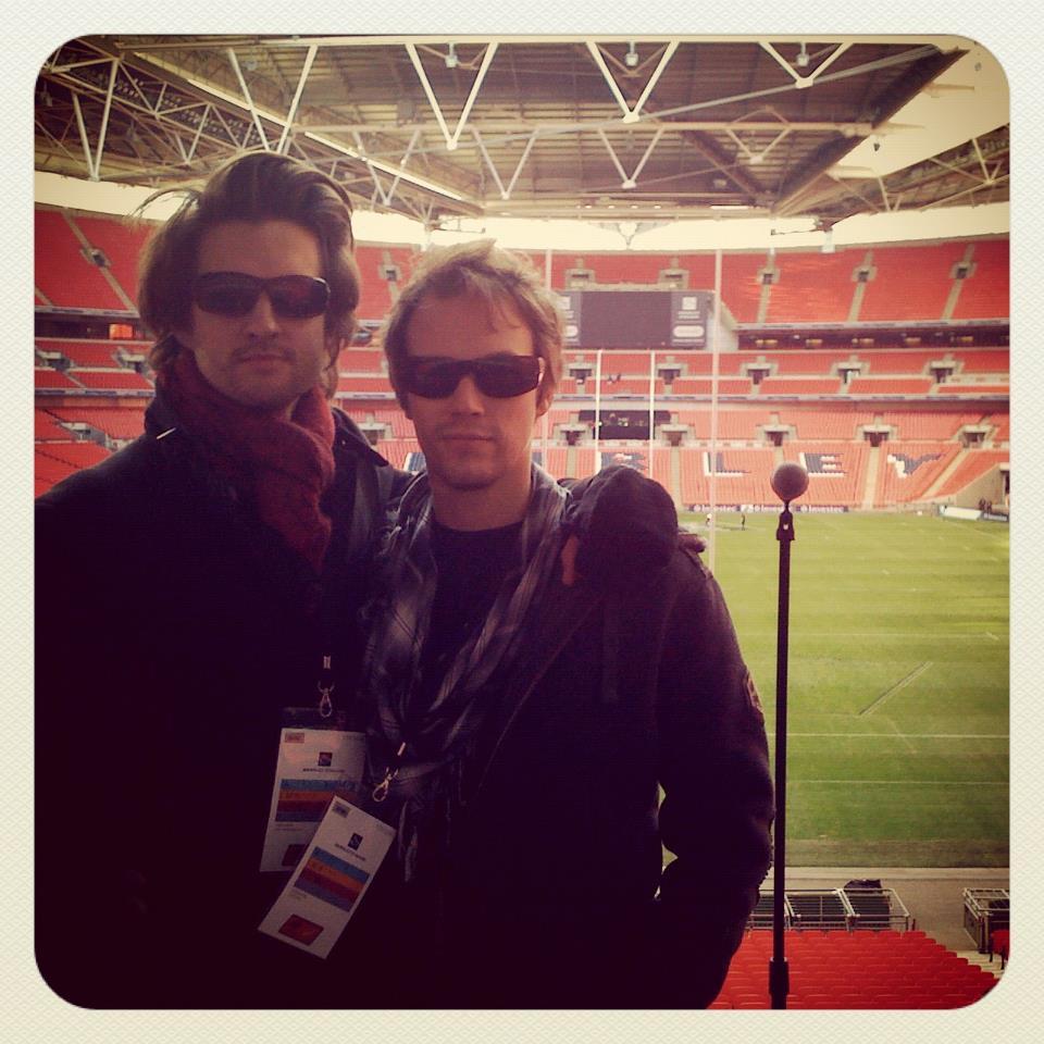 Soundcheck at Wembley Stadium