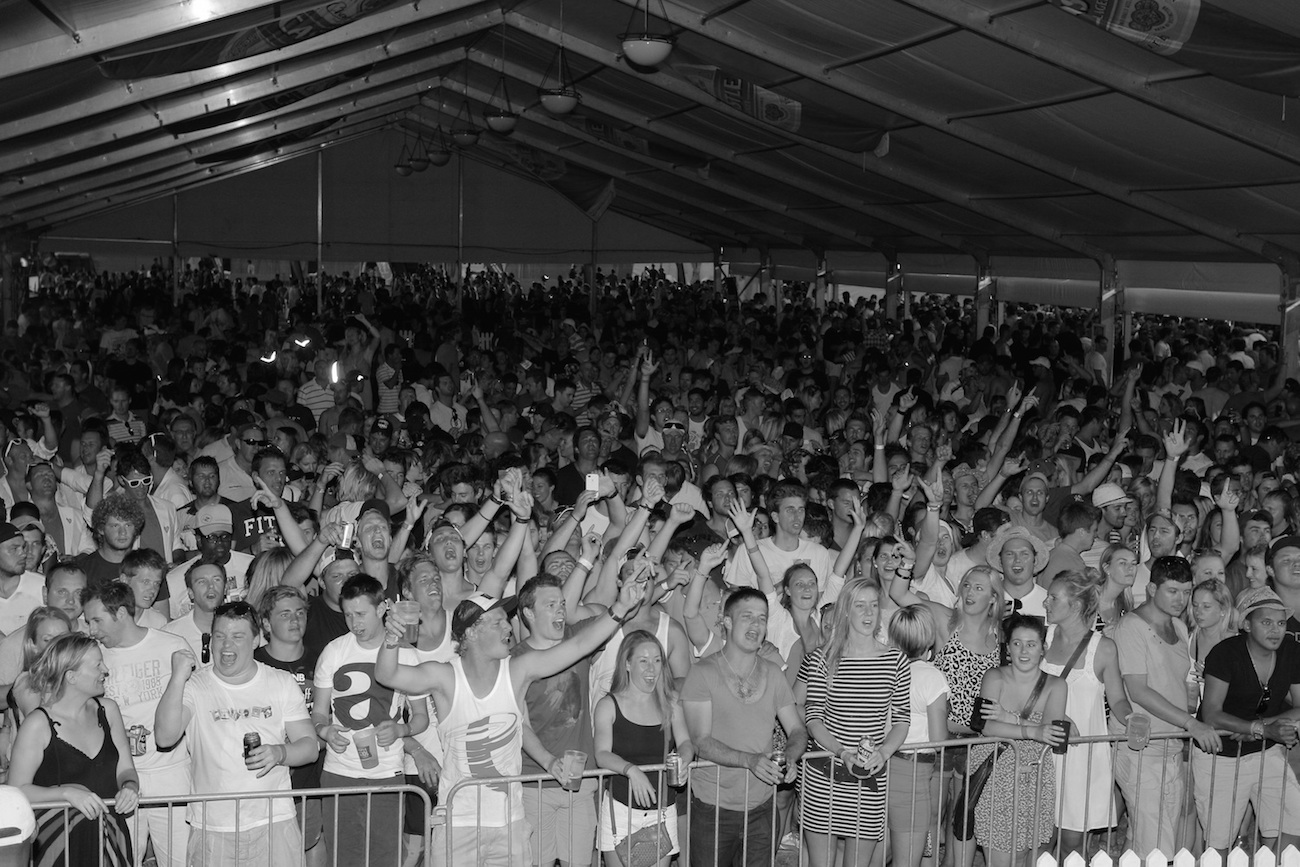 Lightyears crowd in Cape Town, South Africa