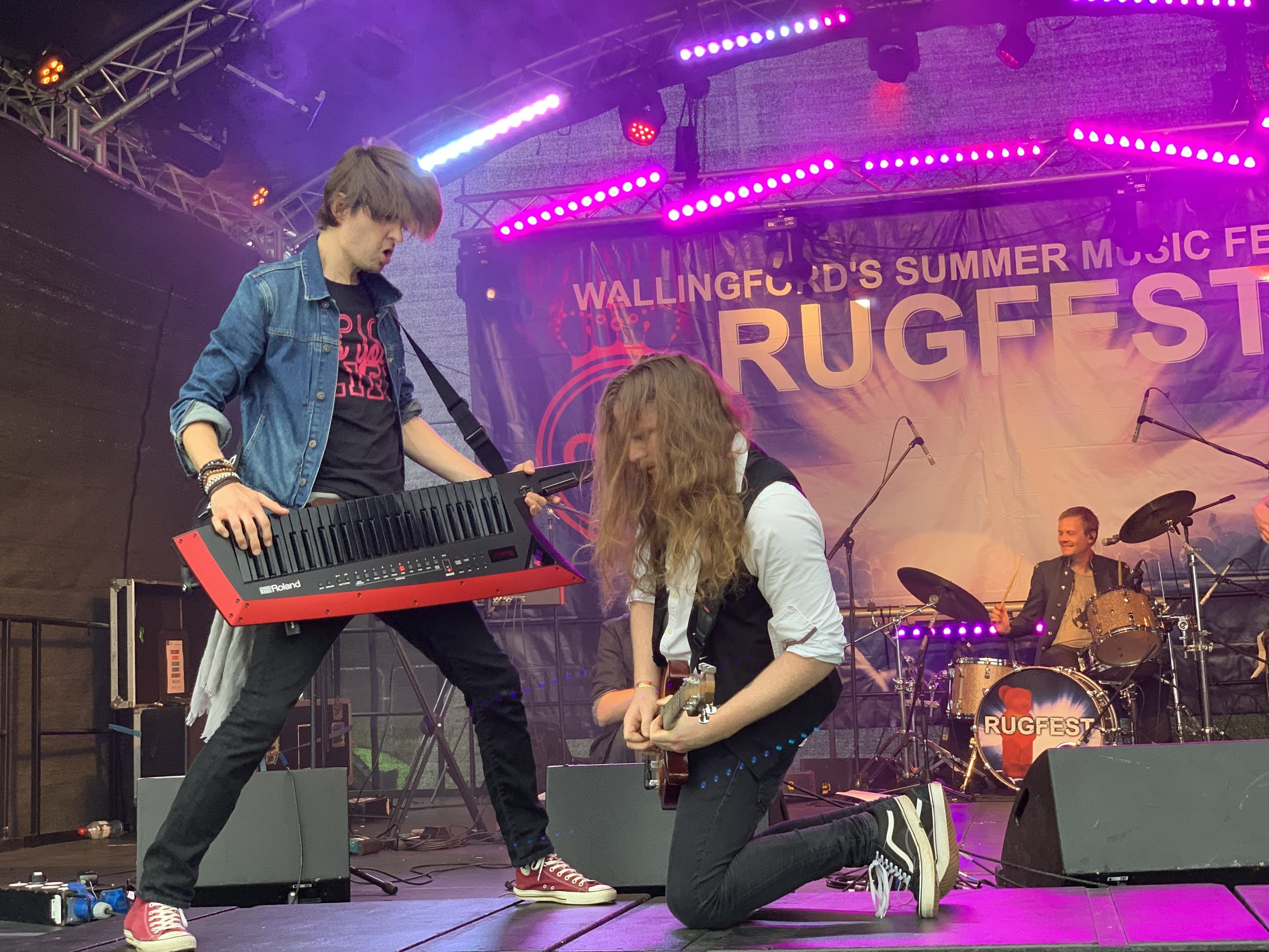 ONSTAGE AT RUGFEST