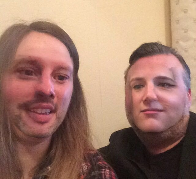 Kat and Pete faceswapping looks a bit like Ted Cruz really.