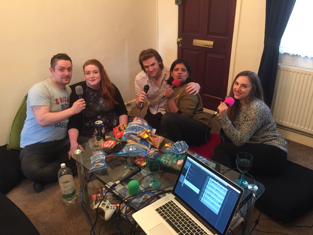 Todays podcast crew so innocent & carefree. Soon  they'll be discussing sex robots, musing on prince's cause of death & deconstructing age old ethical problems like there's no tomorrow