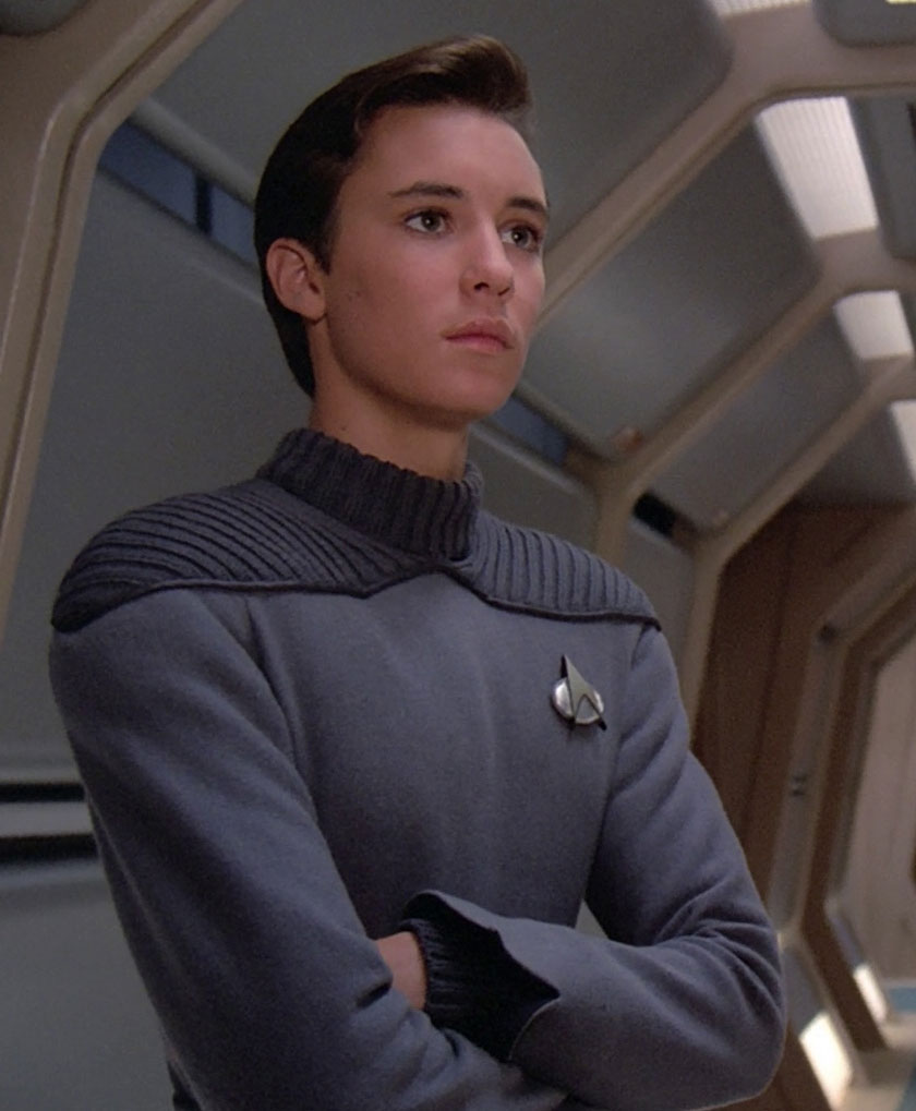 Wesley Crusher - The main reason that nobody liked Star Trek Next Generation