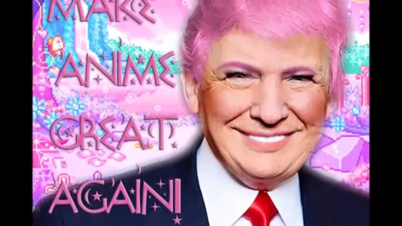 Donald Trump - what a pretty boy