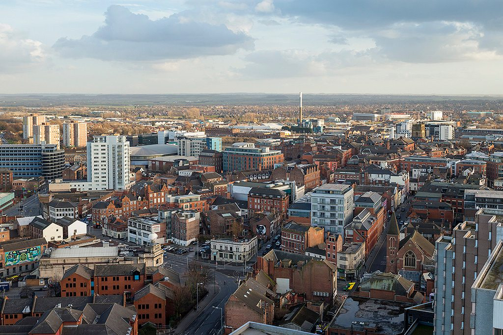 Nottingham - it takes different stroke to move the world