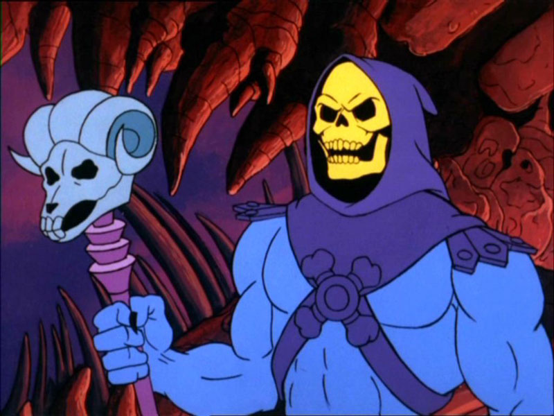 Skeletor yesterday