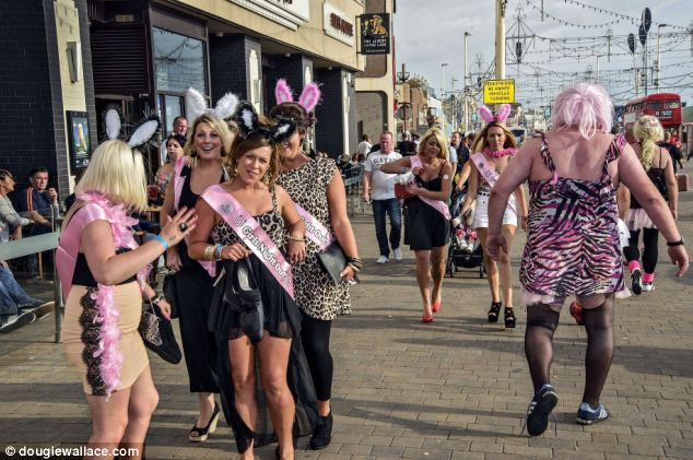 Blackpool. Perhaps the classiest place in the United Kingdom