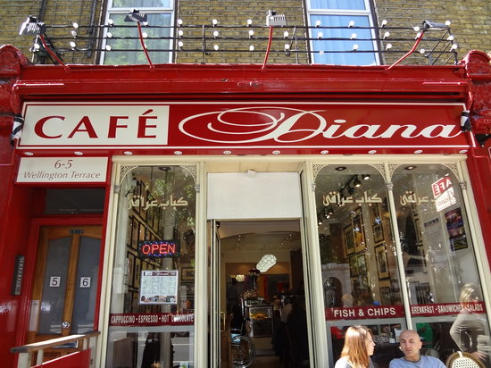 But then I probably wouldn't go into a cafe called Diana