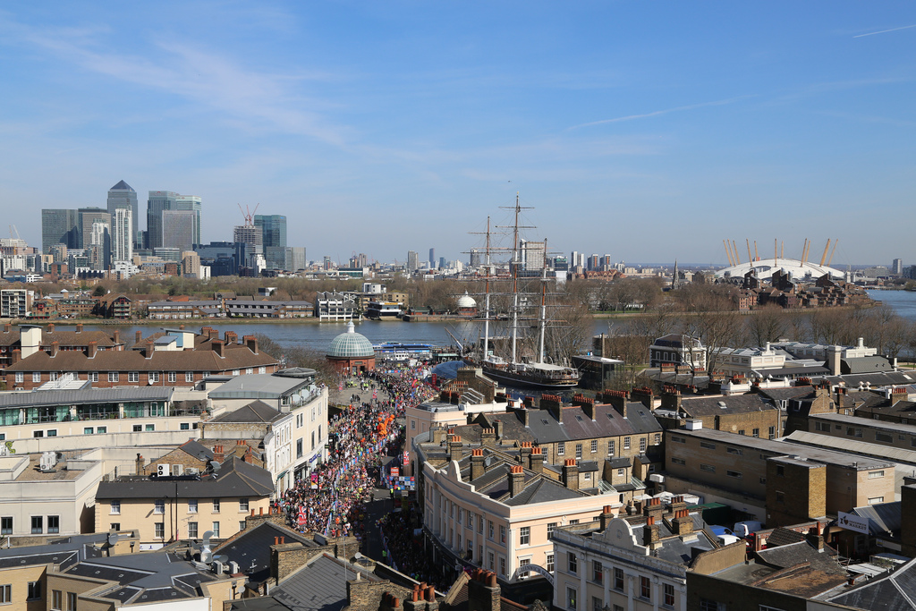 Greenwich - South East London's premier cruising ground
