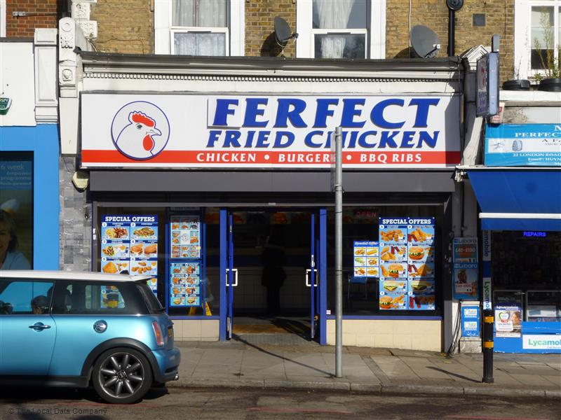 Ferfect fried chicken. South East Londons finest hawker of questionable chicken