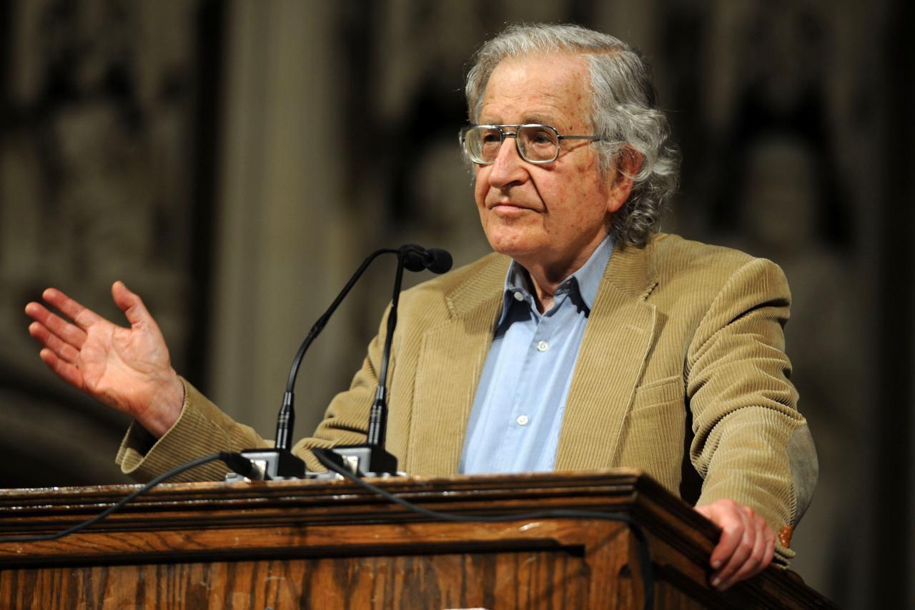 Noam Chomsky is pretty cool
