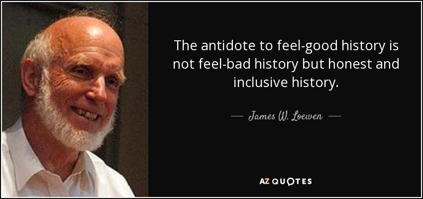 James W. Loewen - Read his books people