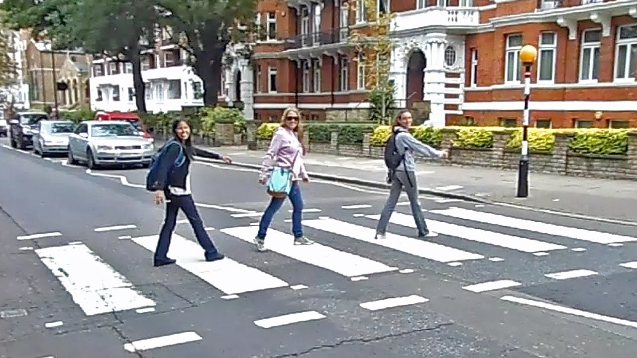 Abbey Road - Probably the worlds most famous Zebra Crossing