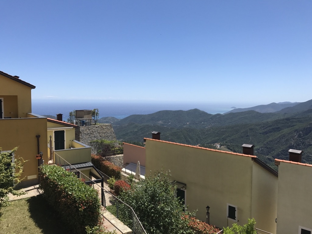 Liguria, Italy - This is what Pete has been staring at while he's been editing the podcast