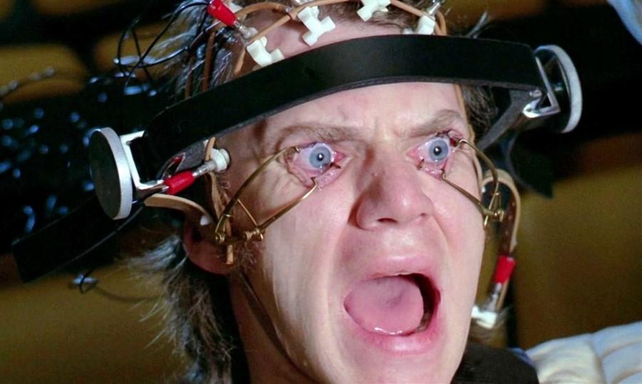 Clockwork orange eye bants