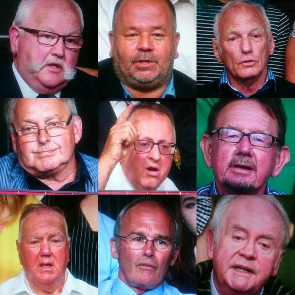 The Wall of Gammon - You wouldn't want to let any of these near any big red buttons
