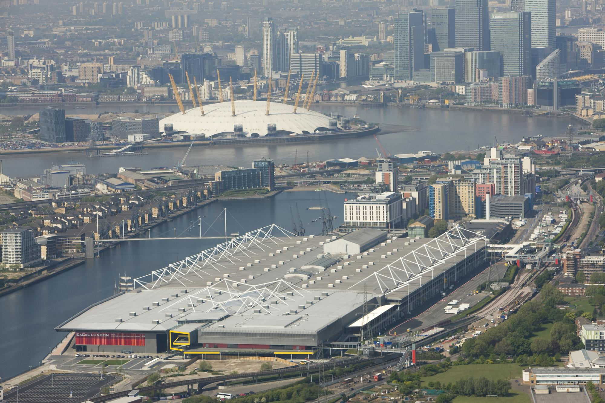 ExCel Centre London - When god was dishing out convention centres, he bestowed a pretty huge one on London!