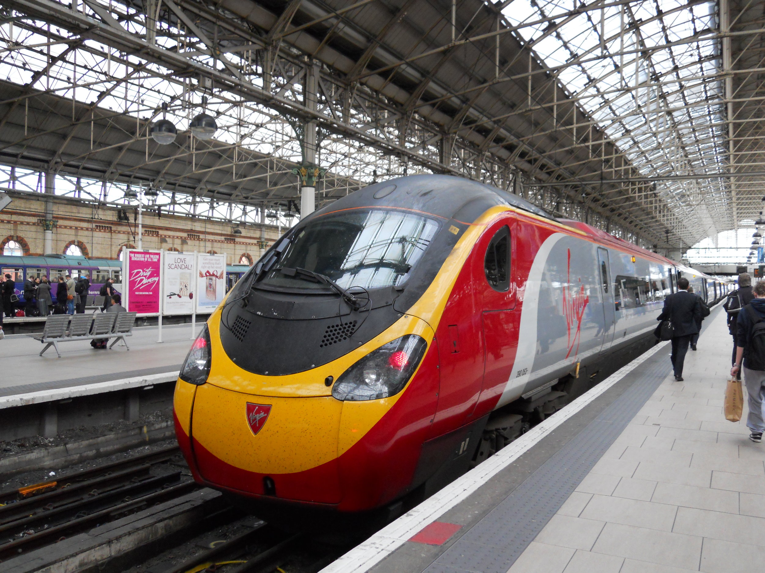 Virgin Trains Are Named After Failure