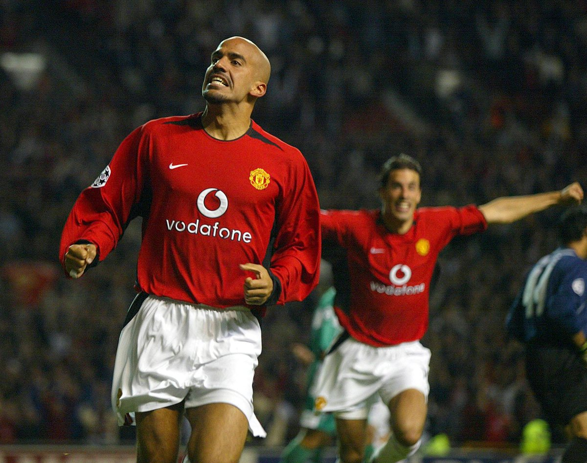 Despite playing for a rival team, Veron has always been one of Petes favourite ever footballers