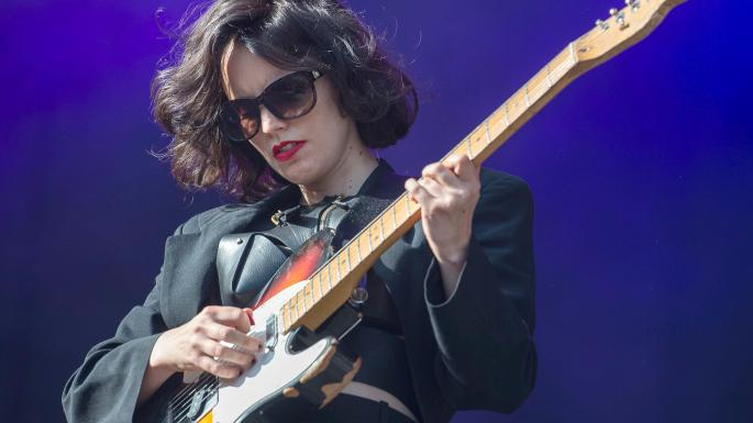 Anna Calvi - Pete's a really big fan of her music