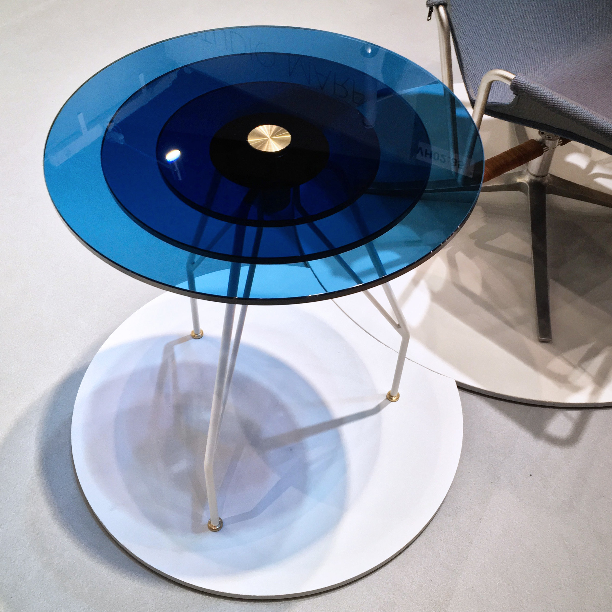 The blue LUNAR table at our Stand