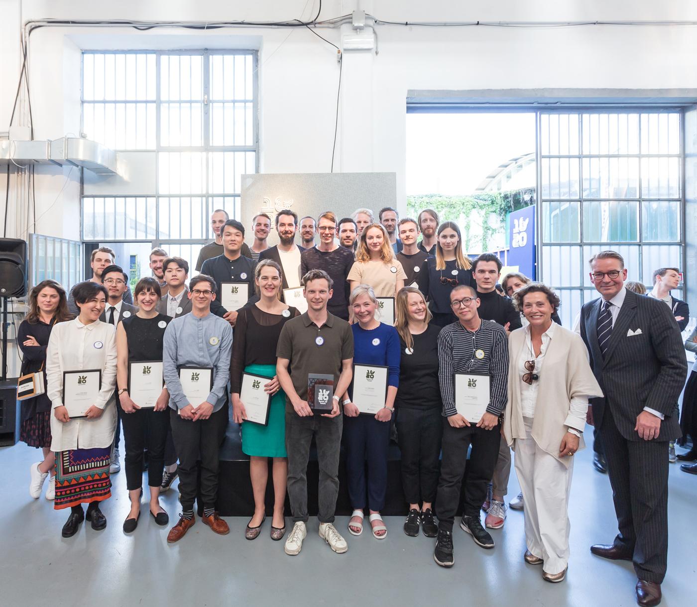 Winners at  ein&zwanzig - Copyright by  Daniel Banner
