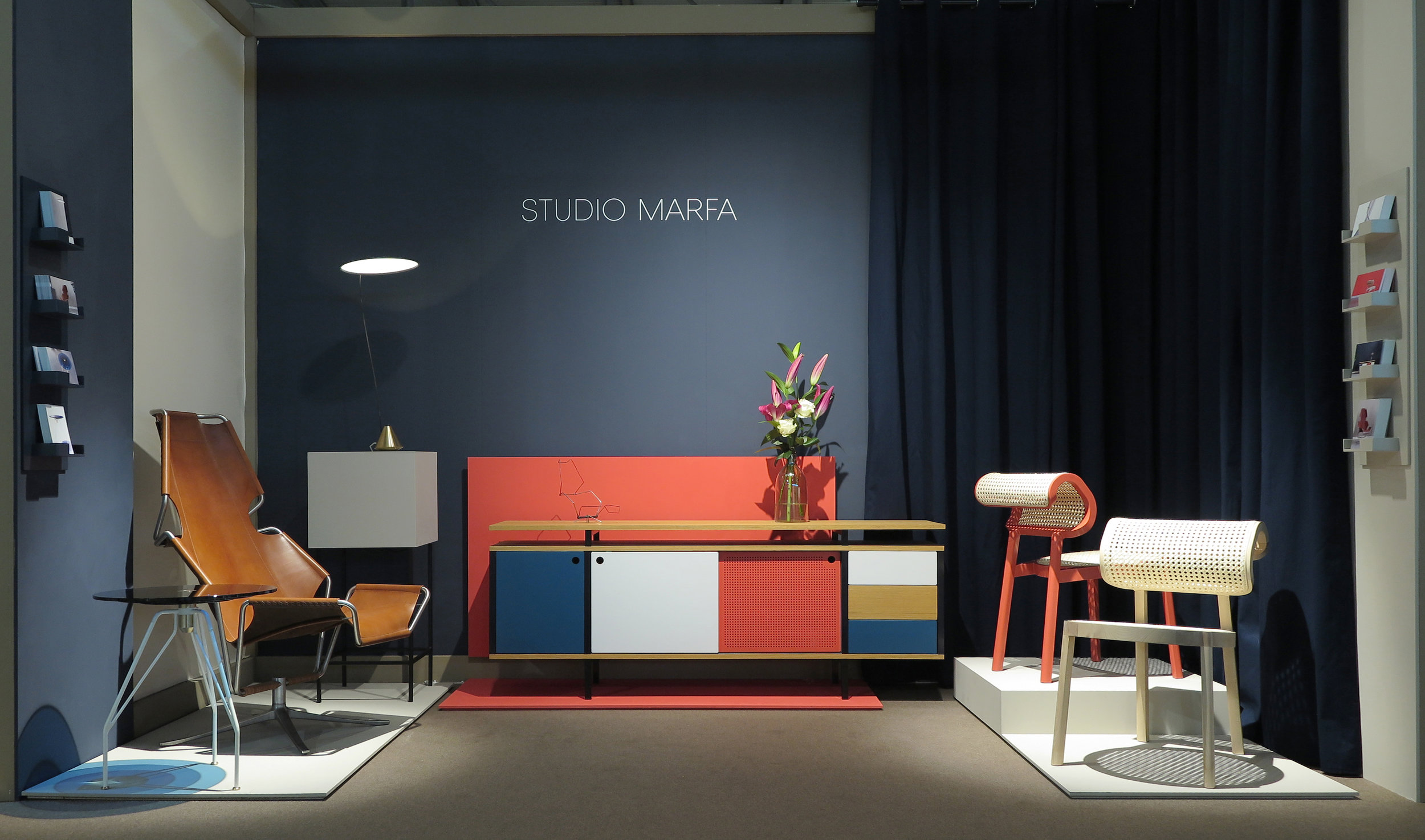 Our booth at the Salone Satellite