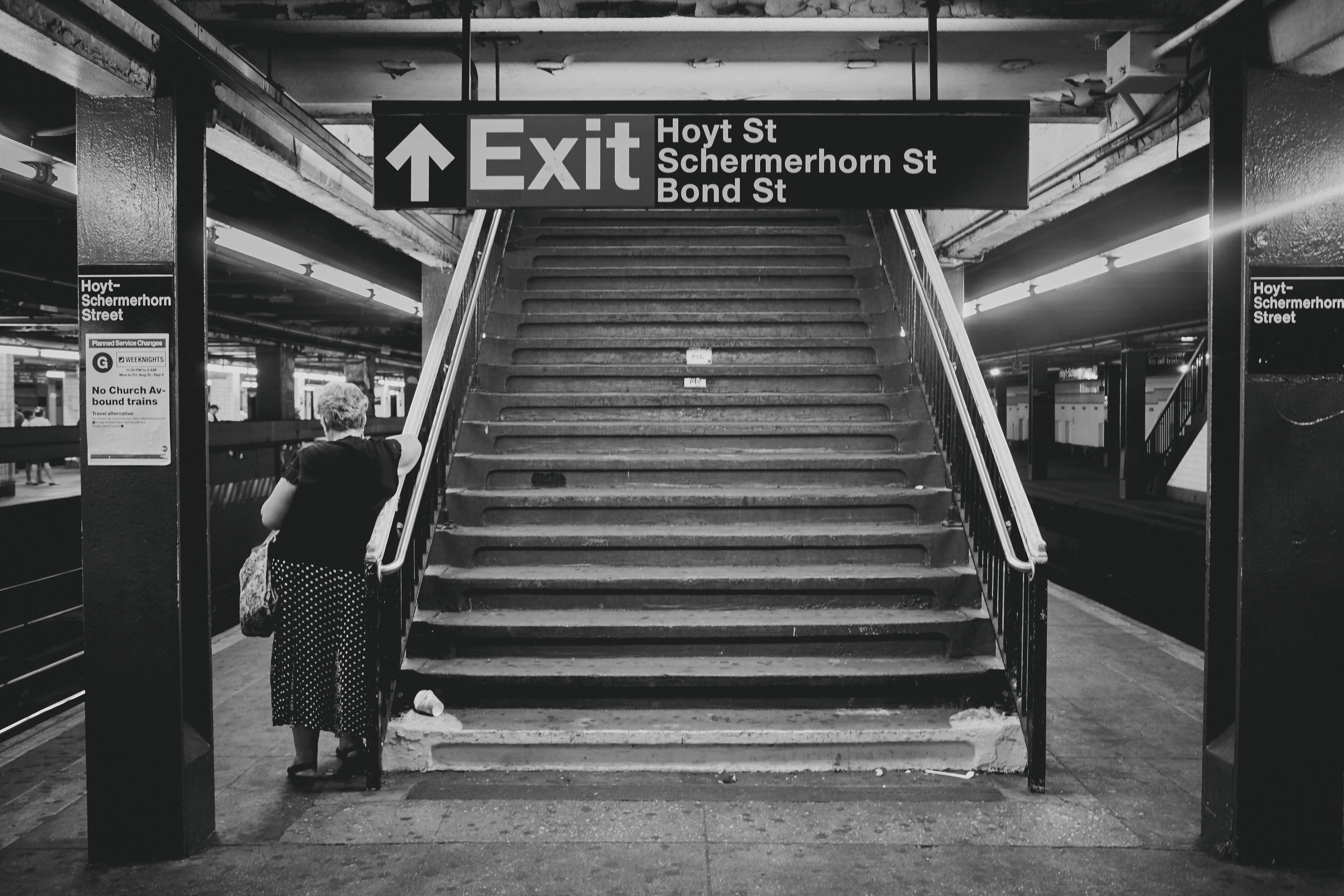 Everyone has one of the New York subway, right?