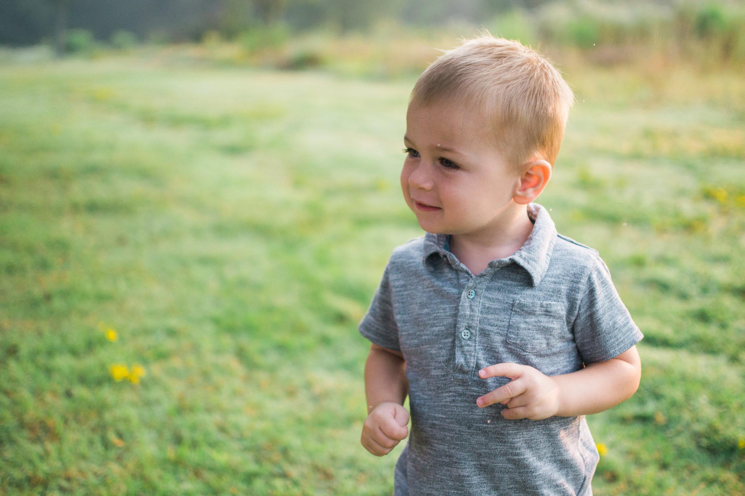 Oscar Paul, 2 Years Old