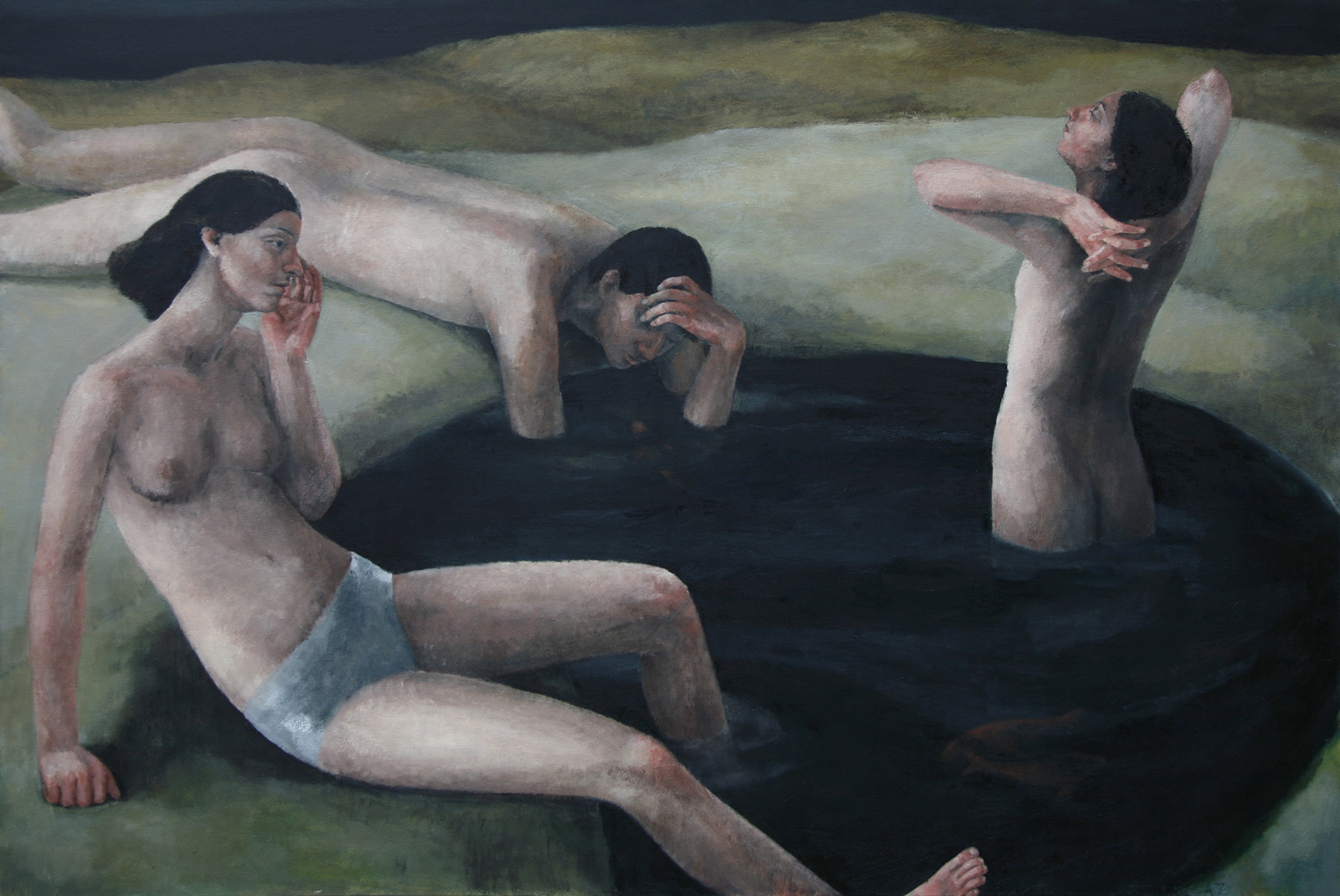 Oil on canvas, 120x180cm
