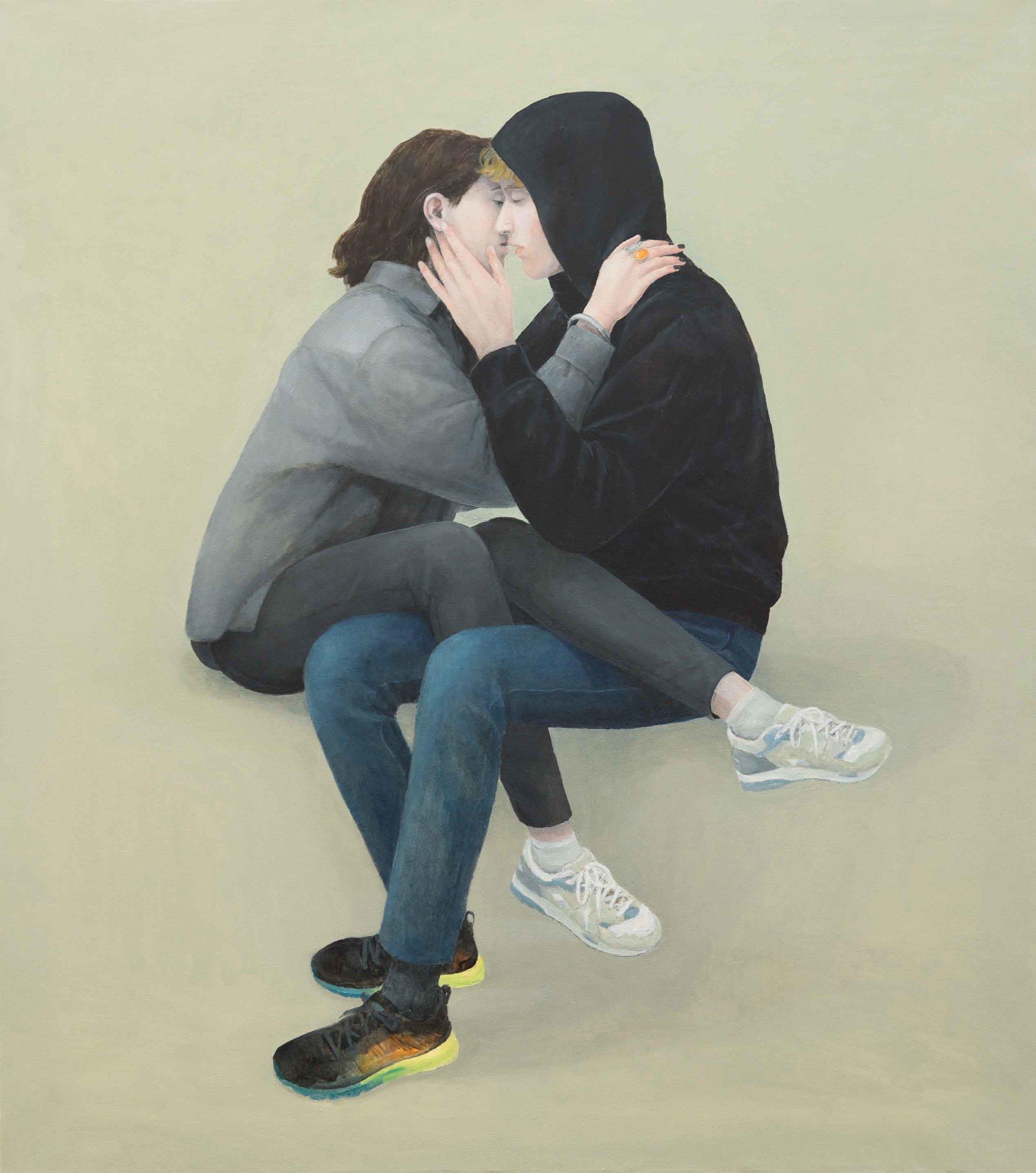 Escape 5, 134x108 cm, Oil on Canvas
