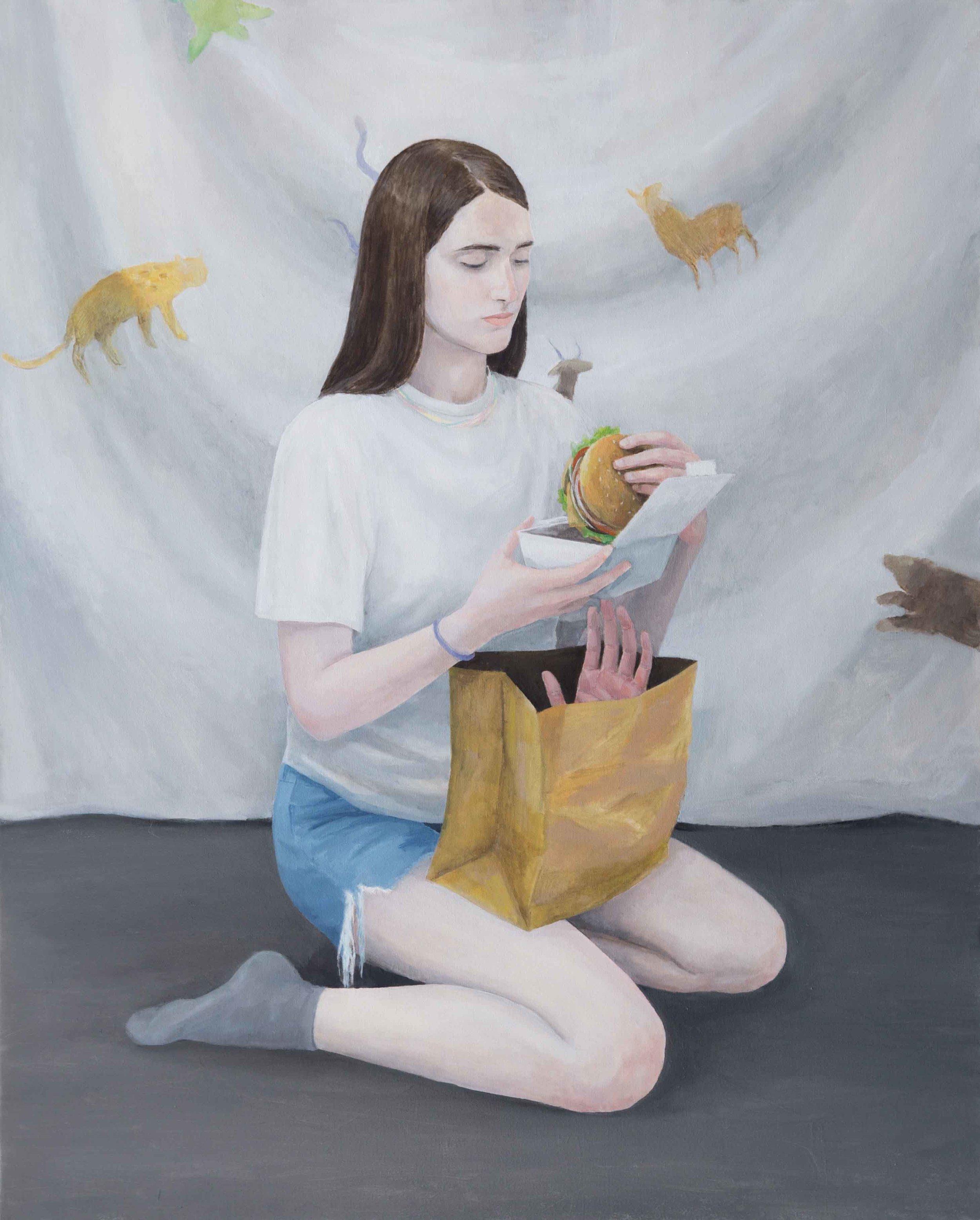 130x105cm, Oil on Canvas