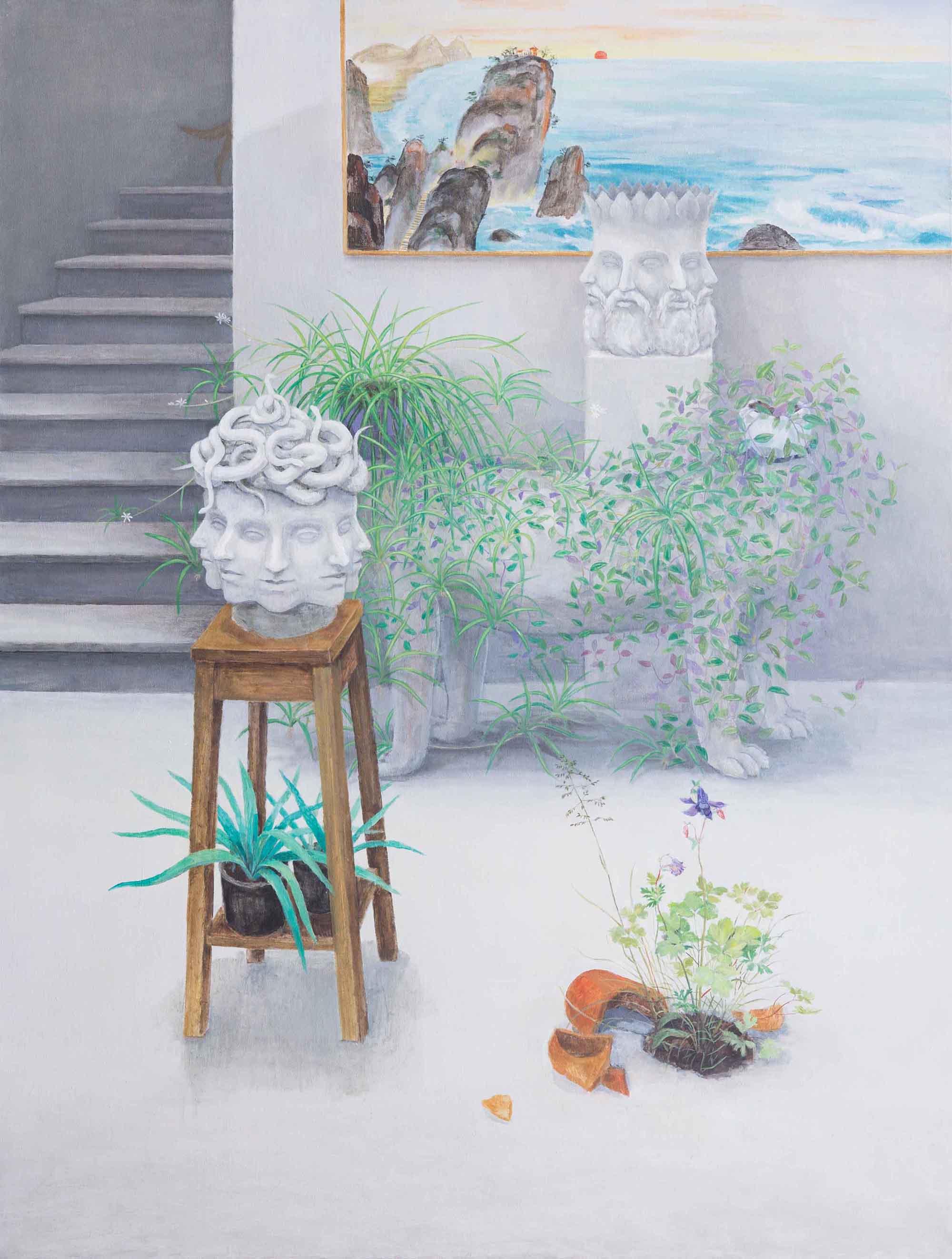 Oil on Canvas, 180x130 cm