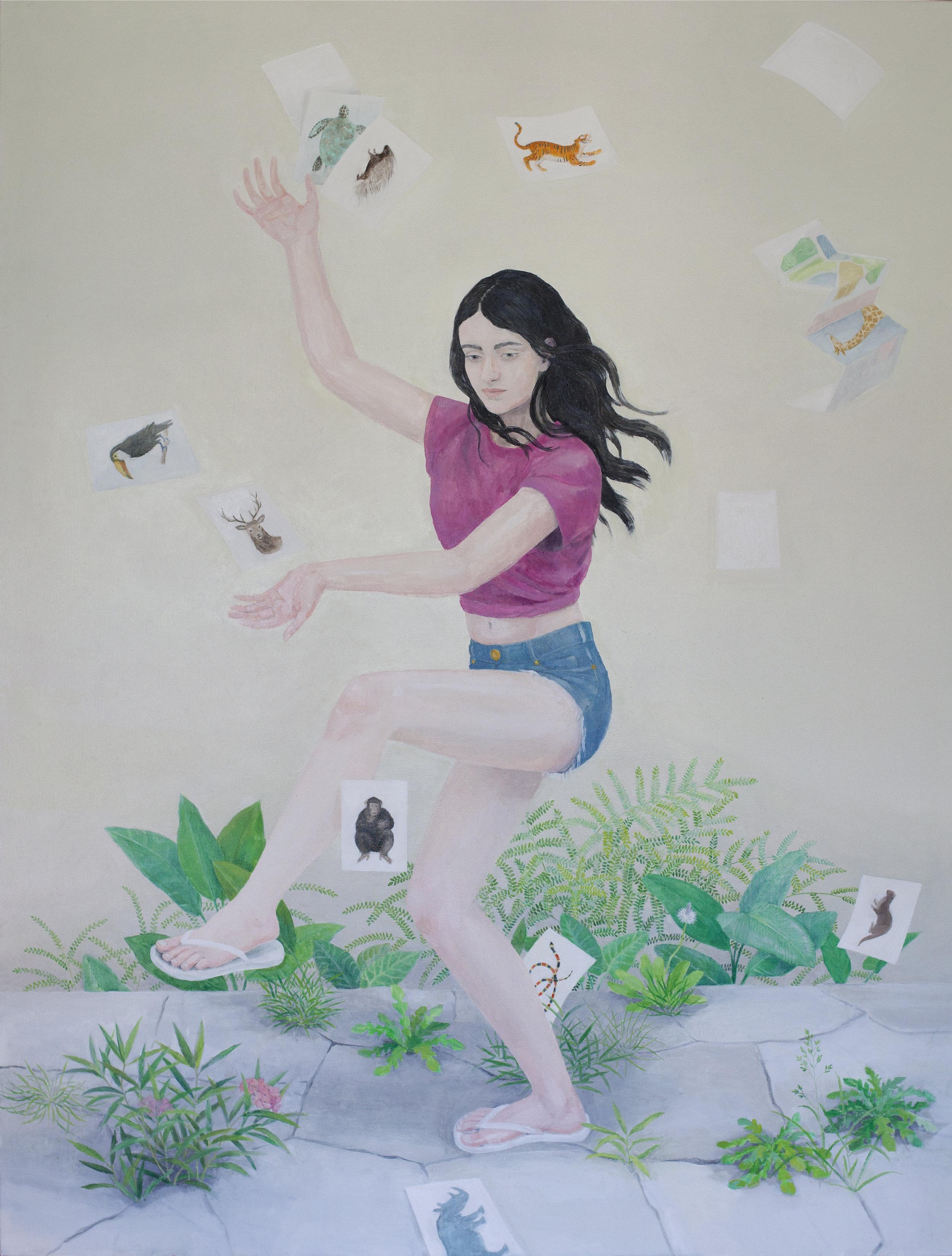 170x130cm, Oil on Canvas