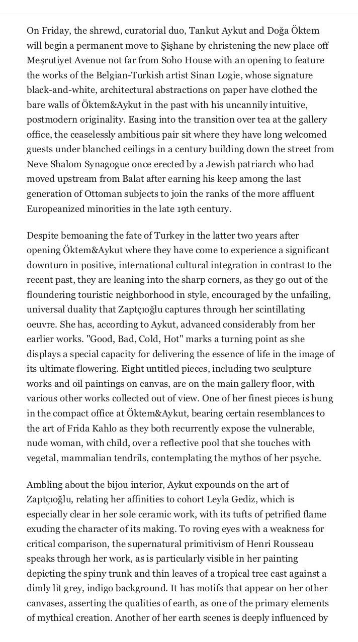 Elements of primitivism: Aylin Zaptçıoğlu advances with Öktem&Aykut - Daily Sabah3.jpg