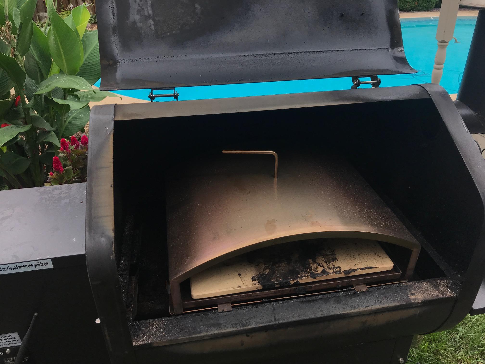 Heat Grill to 300*F