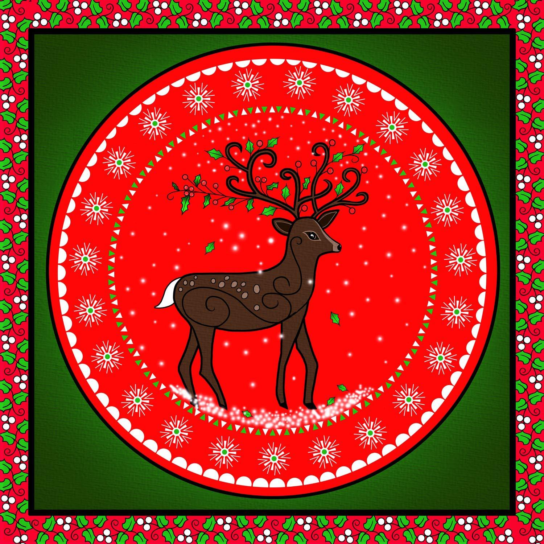 CHRISTMAS REINDEER – Design Ref. 2626