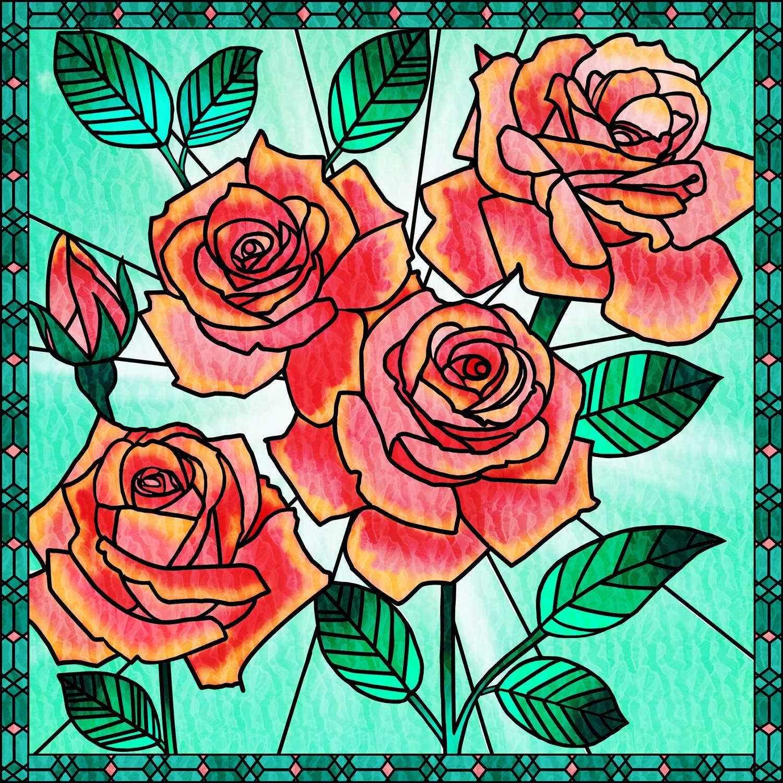 RED ROSE BOUQUET – Design Ref. 2577