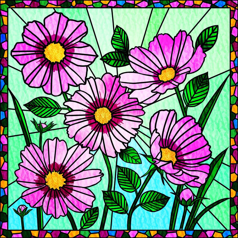 FLOWERING COSMOS – Design Ref. 2578