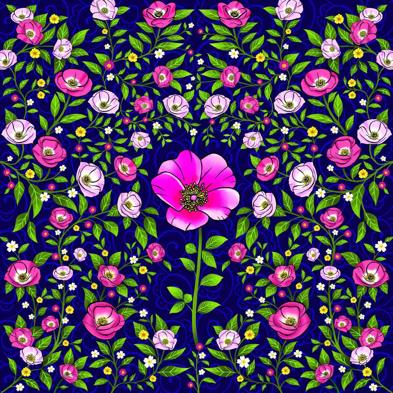 WILD ROSE – Design Ref. 2562