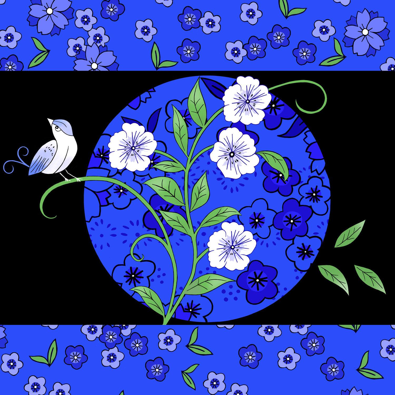 BLUE BIRD – Design Ref. 2406