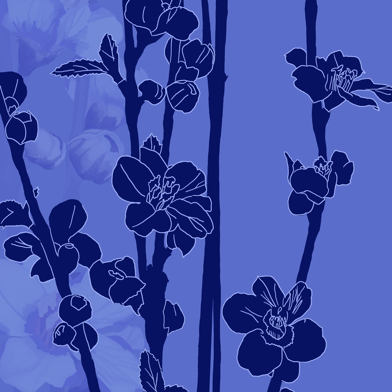 BLUE SILHOUETTE – Design Ref. 1333