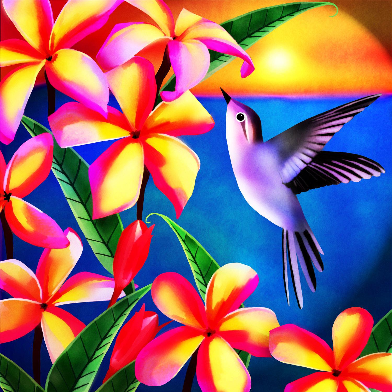 HUMMING BIRD – Design Ref. 2467