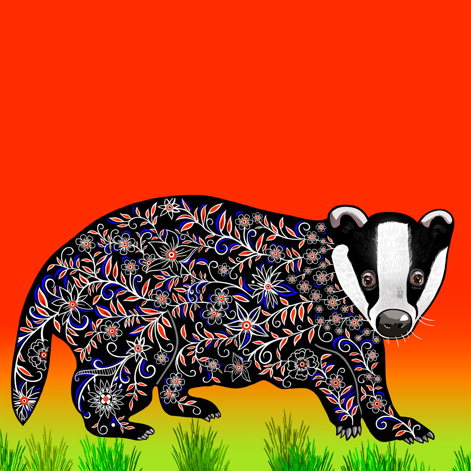 BEN THE BADGER – Design Ref. 2571