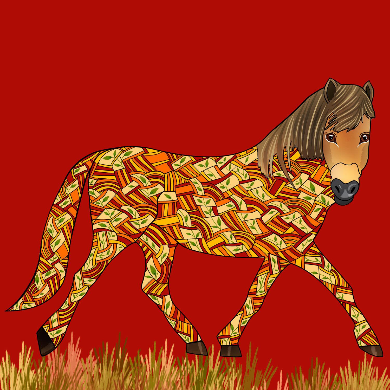 HENDRY THE HORSE – Design Ref. 2572