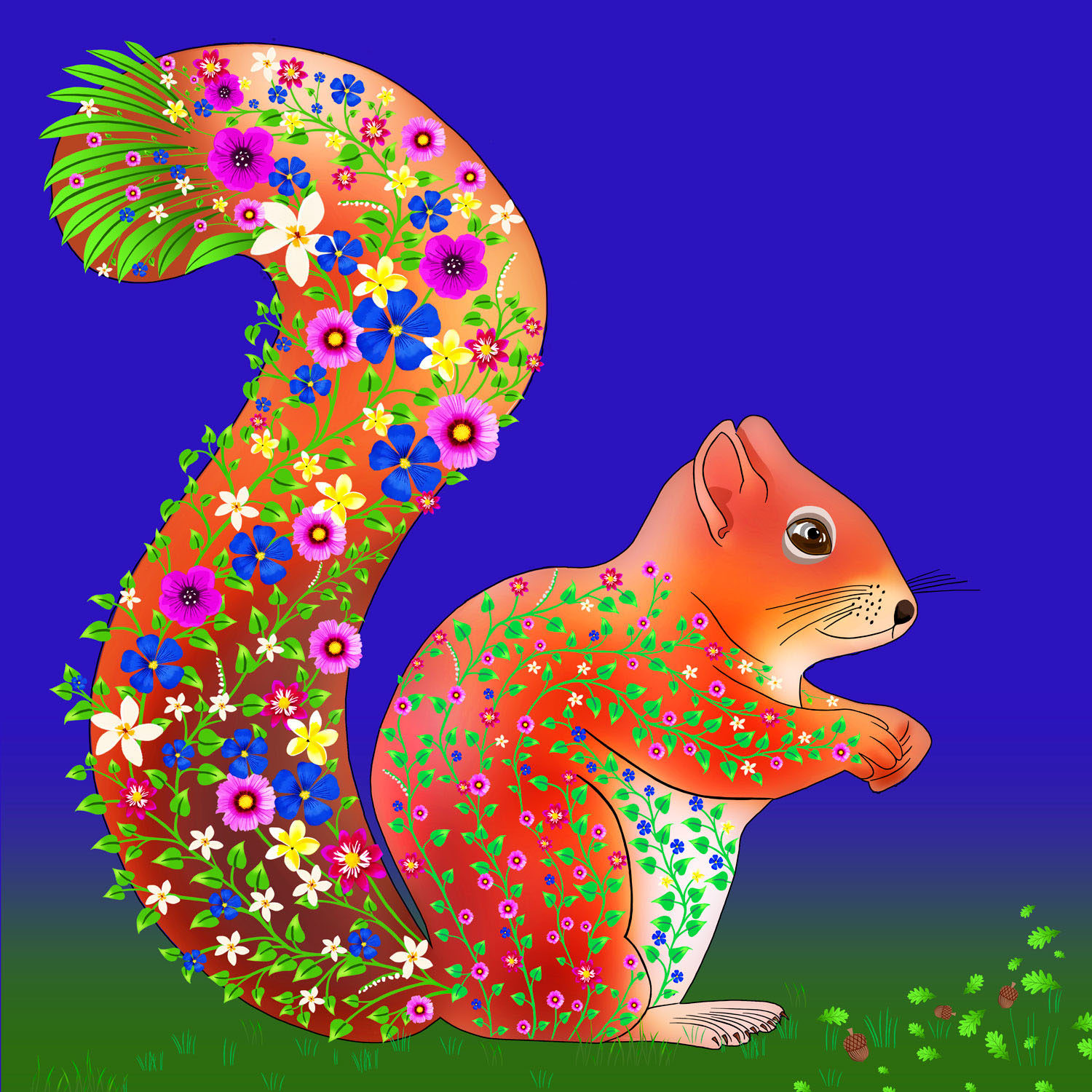 SALLY THE SQUIRREL – Design Ref. 2574