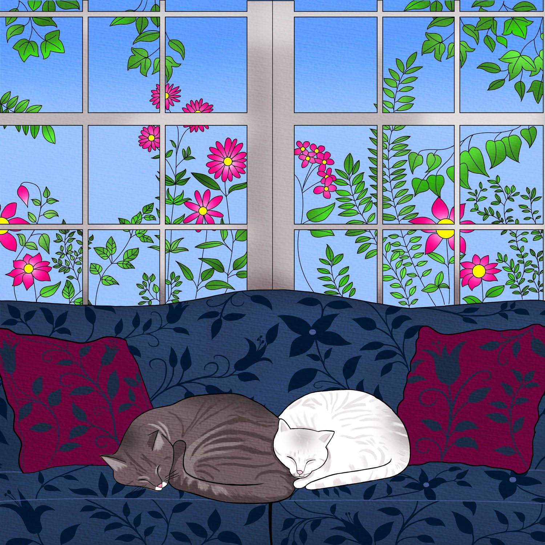 CAT NAP - Design Ref. 2645