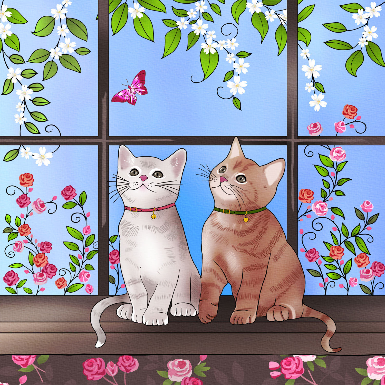KITTENS AT PLAY - Design Ref. 2647